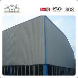 Almacén ligero prefabricado del taller del almacenaje de la estructura de acero del diseño en fábrica del precio