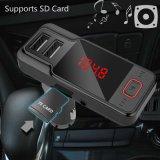 Lcd-Bildschirmanzeige USB-Ladung für des Bluetooth Auto-Kit/SD drahtlosen FM Übermittler Karten-MP3-Player-Freisprechdes aufruf-