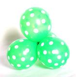 """12의 """" 훈장 생일 파티를 Wedding 물방울 무늬 유액 풍선은 점 팽창식 풍선의 둘레에 인쇄된 사탕 색깔을 공급한다"""