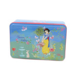 Rectángulo Higed Tapa Tin Box cepillo para el embalaje