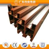 Profil en aluminium direct d'usine pour la porte de tissu pour rideaux