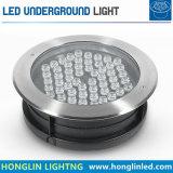 Indicatore luminoso sotterraneo ad alta potenza della lampada di pavimento di 54W RGB LED