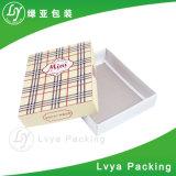 Напечатанная таможней коробка нижнего белья упаковки квадратной бумаги/коробка одежд