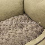 Base di lusso quadrata grigio-chiaro dell'animale domestico con l'ammortizzatore smontabile