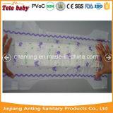 Constructeur remplaçable de couche-culotte de bébé de bébé de vente en gros somnolente de couche-culotte en Chine