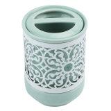 De elegante Moderne Ceramische Toebehoren van de Badkamers die met 4 Stukken van het Pak worden geplaatst