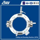"""Taglierina di tubo del blocco per grafici di spaccatura e macchina pneumatiche portatili Od-Montate di Beveler per 4 """" - 8 """" (114.3mm-219.1mm)"""