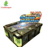 Console positivo de jogo do jogo do rei 2 arcada do oceano da tabela de jogo dos peixes para a venda