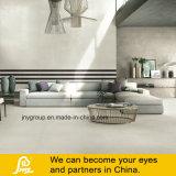 Heißer Verkaufs-graue glasig-glänzende rustikale Porzellan-Fliese für Badezimmer