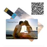 Cartões de crédito personalizado unidade Flash USB de 4GB, 8GB, 16GB, 32GB, 64GB Pen Drive Memory Stick USB Dom pendrive USB 2.0
