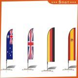 Bon marché Marquage personnalisé Feather Beach Flag