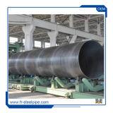 용접된 Steel Welded Pipe X56 관 나선 Ms 물자 나선에 의하여 용접되는 관
