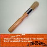 Mango de madera Cepillos de limpieza de equipo de cabeza redonda