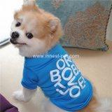 Ropa barata del perro del algodón de la camiseta del perrito de Suppy del animal doméstico, producto del perro