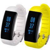 Bracelete Realtime esperto Wearable do monitor da frequência cardíaca de pressão sanguínea IP68