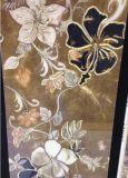 300x600mm mosaicos de vidro decorativo de parede de azulejos de Cristal