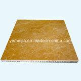 Painéis de pedra de mármore do favo de mel para os revestimentos da parede exterior