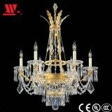 Araña de cristal con cadenas de cristal de la Wl-82136A