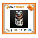 Único incêndio do condutor do cobre do núcleo - fio flexível isolado PVC resistente do cabo distribuidor de corrente