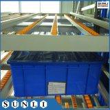 Depósito de almacenamiento del flujo de caja de cartón para rack de la gravedad de diapositivas