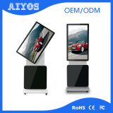 表示を広告する1つの人間の特徴をもつHD LCDのタッチ画面デジタルのすべて