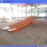 Contenedor móvil de 10 toneladas de carga de la carretilla elevadora de la rampa de patio en venta