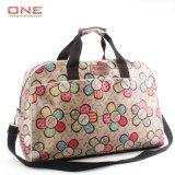 Nuovo sacchetto di corsa di fine settimana dei bagagli del Duffel della stampa del fiore delle ragazze di modo