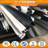 Weiye a personnalisé l'aluminium/aluminium/profil d'Aluminio pour le guichet de glissement