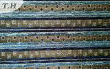 Sofà normale blu del Chenille della banda del Yemen (fth31887)