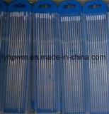 Tierra de brillantes ISO6848 China templado de 8% de los electrodos de tungsteno Zirconizted