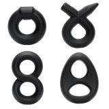 Universalskrotum-und Penis-Schleifen-doppelte Ringe auf Verkauf
