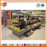 슈퍼마켓 나무로 되는 야채와 과일 전시 선반 선반 (Zhv80)