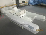 Liya 2.45.2m Boot van de Boot van de Rib van de Glasvezel de Stijve Opblaasbare