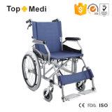 Медицинское с ограниченными возможностями неработающее оборудование складывая ручную кресло-коляску с соединенным тормозом