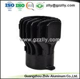Los materiales de construcción forma Girasol disipador térmico extrusión de aluminio