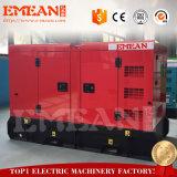 leiser Dieselgenerator des Kabinendach-100kw mit berühmtem Motor und Drehstromgenerator