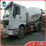 Carro usado vehículo especializado del mezclador concreto del transporte HOWO