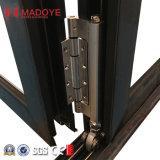 Thermische Bruch-Doppelt-Glasmitten-geöffnete Falz-Tür für Werbung