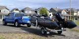Funsor頑丈なHypalonの軍のボート(FWS-MLシリーズ)