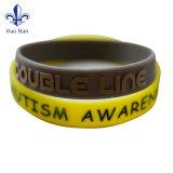 210*25*2mm progettano il braccialetto per il cliente del silicone