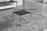 Самомоднейшая мебель комнаты таблицы конца таблицы стороны таблицы софы основания нержавеющей стали живущий