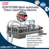Машина завалки полуавтоматного поршеня жидкостная для уксуса (G2WYD1000)