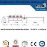 Rodillo de Furring del metal del ángulo de pared del precio de fábrica que forma la máquina