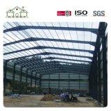 Estructura de acero de la luz de bajo coste de almacén prefabricados