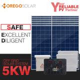 Sistema Home solar de Moregosolar 5kw fora da grade com garantia longa