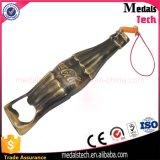 Таможня консервооткрывателя бутылки пива формы лопаткоулавливателя сплава цинка золота