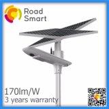10W/15W/20W LED solar al aire libre Jardín de luz de la calle inteligente