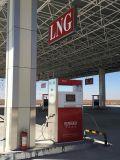 Dispensador del GASERO para la estación que aprovisiona de combustible pública