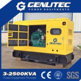tipo silencioso generador de 50kw 62.5kVA del diesel de Cummins