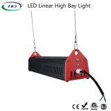 100W alto Ce lineare RoHS ETL Dlc dell'indicatore luminoso della baia di lumen LED alto